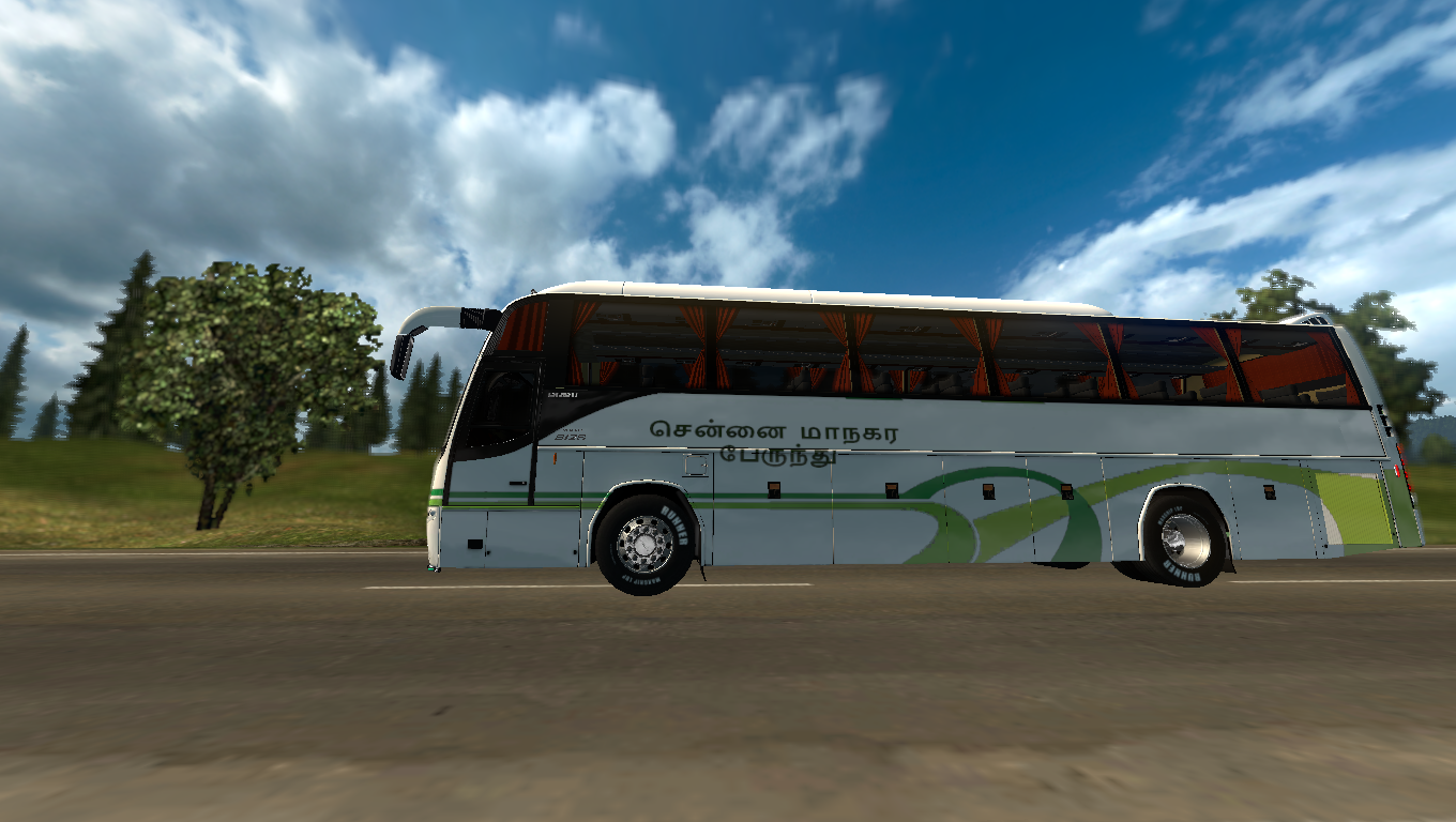 Euro truck simulator 2 indian bus mod with passengers